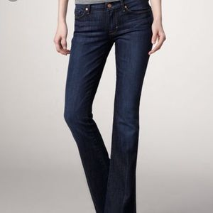 7 for all mankind kaylie slim fit boot cut jeans
